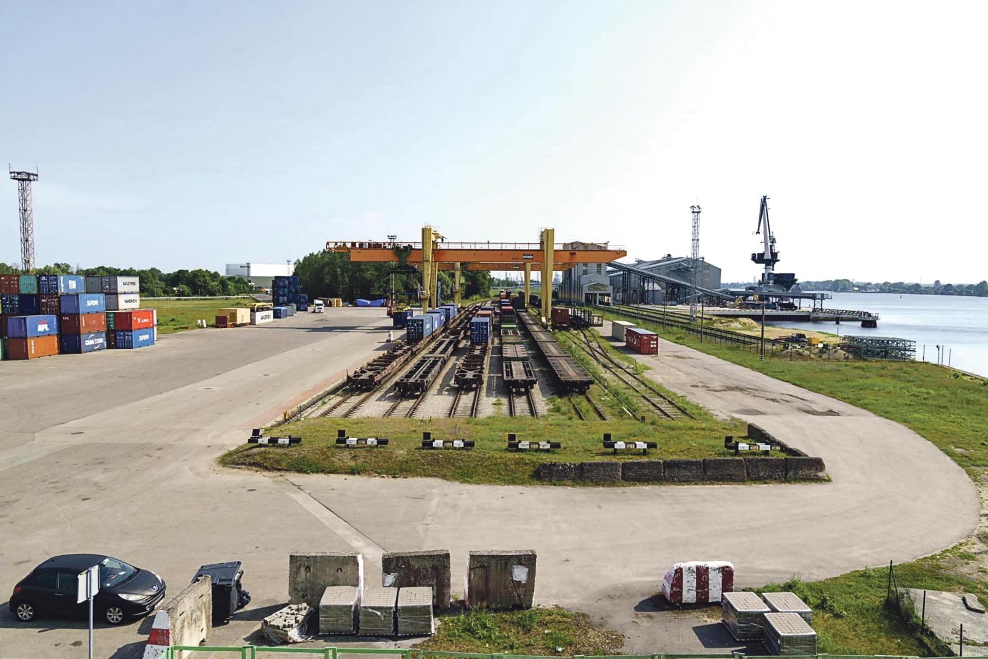 baltic container terminal hili mariner