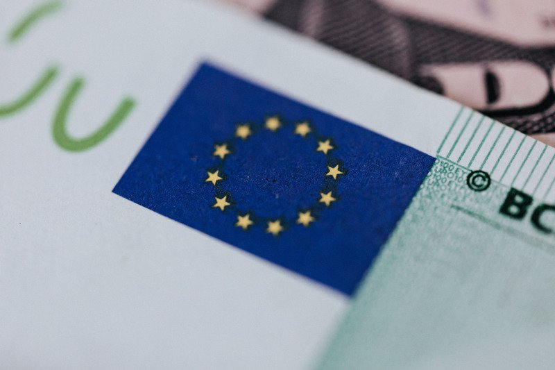 Canva - Symbol of European Union on banknote