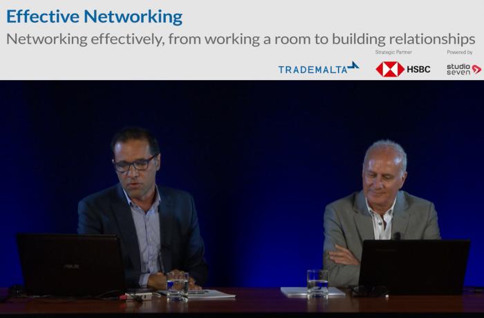 Webinar-effective networking-watch